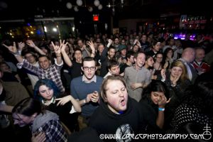 Screaming Females fans at Knitting Factory in Brooklyn, NY- February 28, 2015.