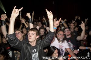 Septic Flesh fans at Gramercy Theater, NYC- October 16, 2012.
