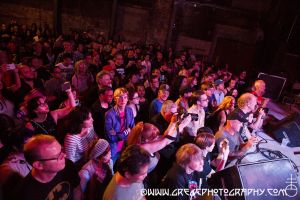 Shonen Knife fans at The Wick in Brooklyn, NY- September 12, 2014.