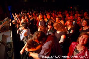 Sloan fans at Music Hall of Williamsburg in Brooklyn, NY- October 15, 2012.