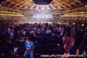 Tom Petty And The Heartbreakers fans at Madison Square Garden, NYC- September 10, 2014.