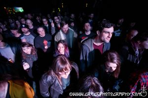 Tombs fans at Saint Vitus Bar in Brooklyn, NY- December 12, 2014.