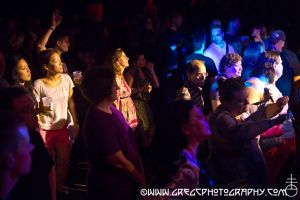 Vince Clarke fans at Music Hall of Williamsburg in Brooklyn, NY- July 3, 2014.