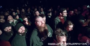 YOB fans at Saint Vitus Bar in Brooklyn, NY- December 12, 2014.
