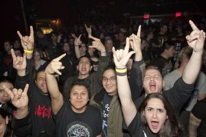 Deicide fans at Gramercy Theater, NYC- March 3, 2012.